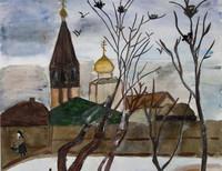 Кашкарова Карина, 5 класс, «Грачи прилетели», Санкт-Петербург, ГБОУ Школа-интернат №28