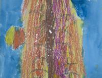 Антонова Екатерина, 7 лет, «Осеннее дерево», Санкт-Петербург, ГБДОУ №27