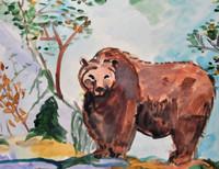 Гордость России - Бурый медведь