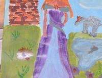 Аня Боргомотова | 12 лет | Приют «Детский Ковчег»